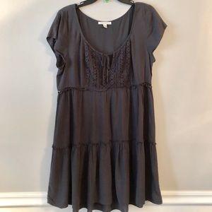 American Eagle Charcoal Gray Dress